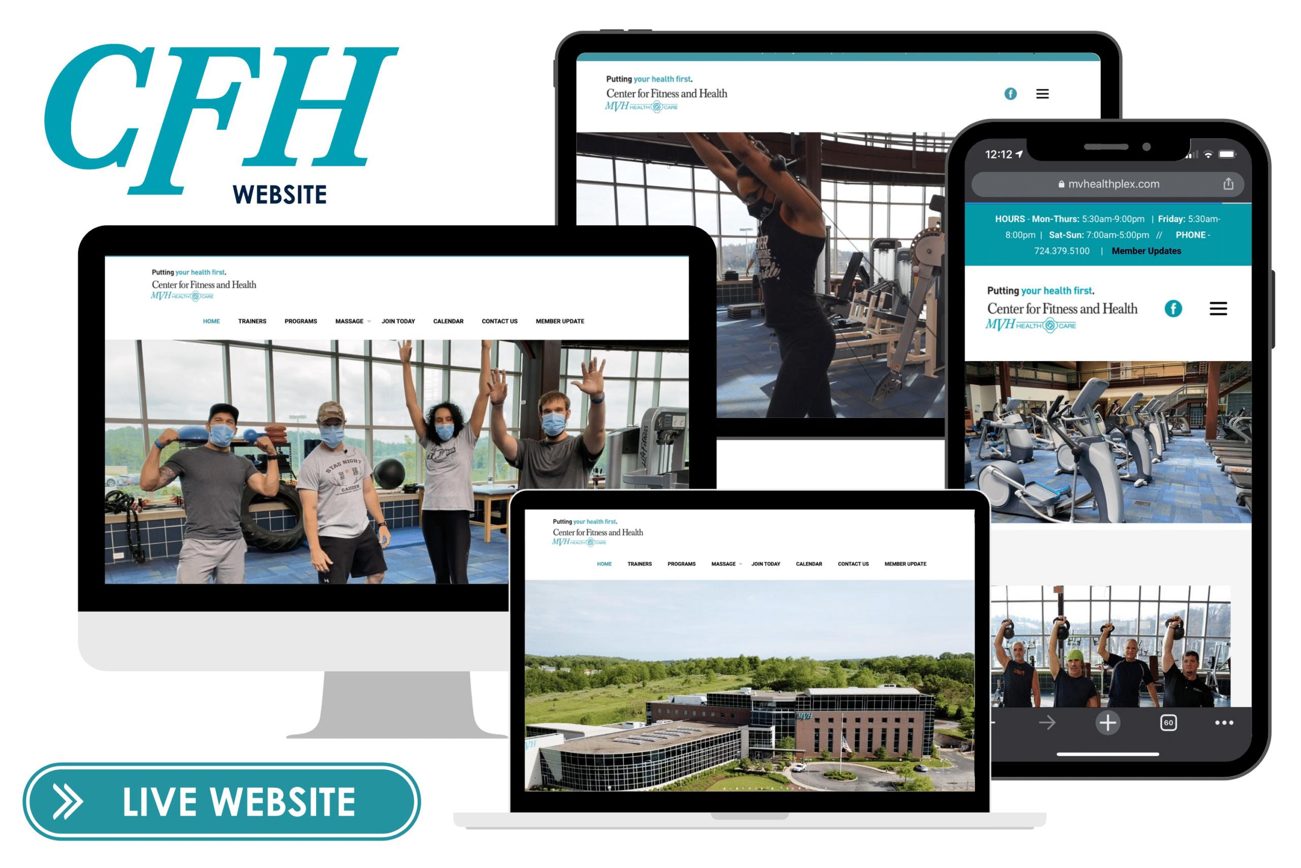 TFM Client Slider - CFH Website