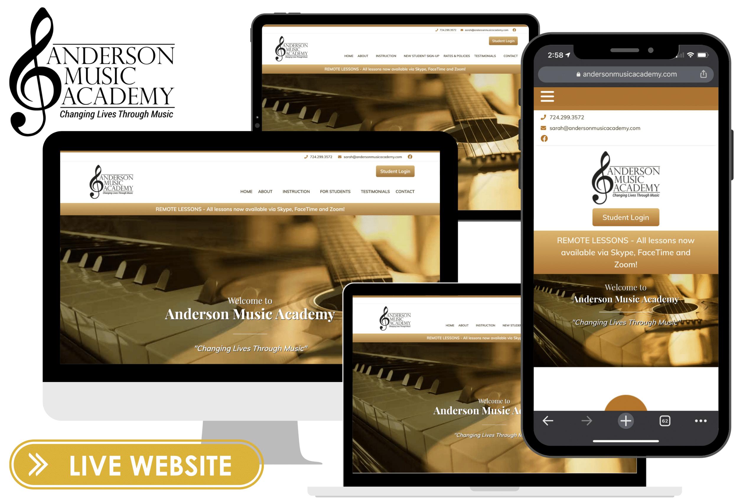 TFM Website Slider - Anderson